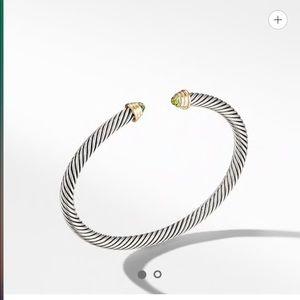 David Yurman Kids Birthstone Cable Bracelet 4mm
